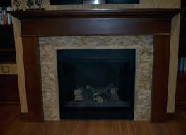 mosaic tile fireplace and glass black marble surround ideas