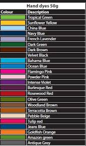 Tulip Fabric Dye Color Chart 4 X Dylon Dark Green 50g Coloured Hand Wash Fabric Clothes Dye