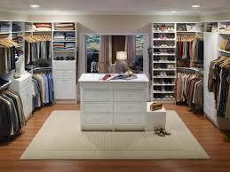 walk in master closet