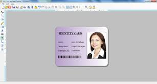 042 Visitors Management Id Card Design Tool Employee