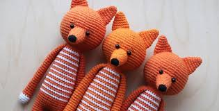 Crochet Fox Pattern Best Amigurumi Fox Long Legged Free Crochet Pattern Crochet News