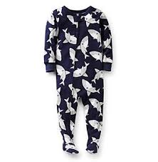 the best mens footed pajamas ideas cute baby  product carter s® baby boys navy shark print footed pajamas