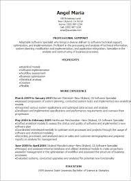 Enchanting Software Implementation Resume 39 For Your Free Online Resume  Builder with Software Implementation Resume