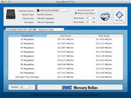 Owc Pcie Thunderbolt Card Compatibility Chart Benchmarking The Owc Mercury Accelsior_e2