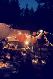 outside lighting ideas for parties. outdoor party decor by sylvianes outside lighting ideas for parties