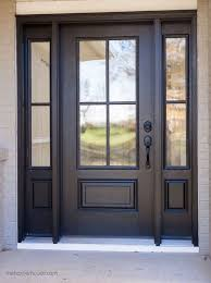 where to find exterior door hardware perfect for a modern farmhouse