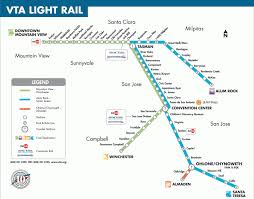 san jose metro map  toursmapscom ®