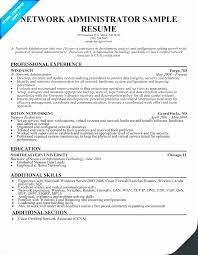 Sample Resume For System Administrator Fresher Jobresumewriting Com