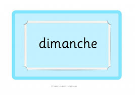 French Days Of The Week Days Of The Week In French Printable Teaching Resources