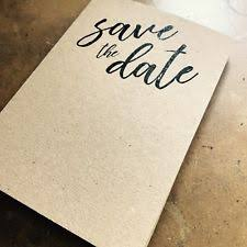 Blank Save The Date Cards Wedding Save The Dates 10 50 Ebay