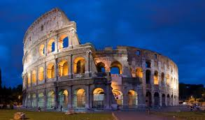 Colosseum illalla