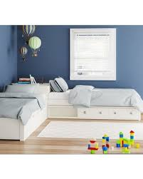 Viv + Rae Granville L-Shaped Storage Twin Platform Bed with Trundle Bed Frame Color: White from Wayfair | People