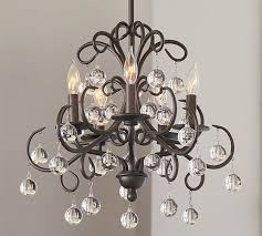 pottery barn bellora chandelier