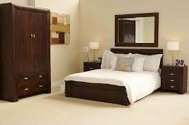 modern wood furniture design. Cozy White Bedroom Interior Design With Brown Wood Furniture Set Modern Wood Furniture Design