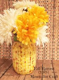 t disclosure affiliate diy fall harvest corn mason jar craft