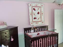chair rail nursery. Interesting Nursery Baby Girl Nursery With Cherry Furniture   Chair Rail On