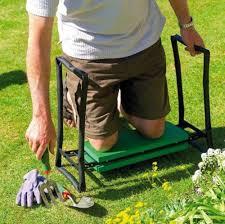 portable folding garden kneeler