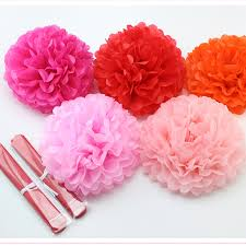 Diy Flower Balls Tissue Paper Us 1 44 10 Off New 5pcs Lot 6