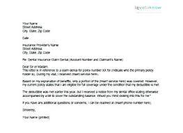 Appeal Template Letter Sample Medical Appeal Letters Sample