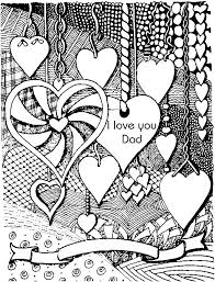 Anti Stress Coloring Pages Fathers Day