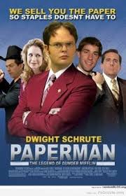 the office poster. Dwight Schrute Quote The Office Meme Quotes. Anchorman Movie Poster Parody Paperman