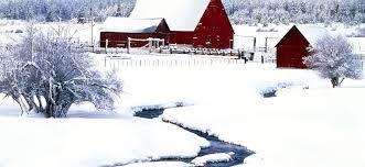 Winter Snow Scene House HD Wallpaper ...