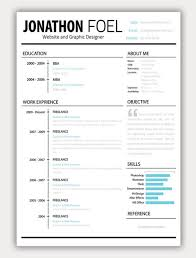 Creative Resume ~ Like the layout, Objective or About Me Section with large  quotation mark
