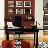 office color scheme. red paint color palettes for studies and home offices from benjamin moore office scheme
