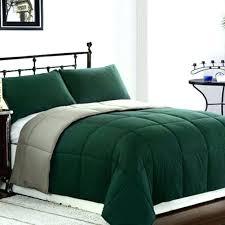 hunter green comforter supply reversible set size twin color sage king suppl