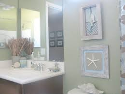 Decoration For Bathroom Simple Nautical Bathroom Decoration Using Aged Wooden Framed