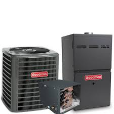 goodman condenser. 4 ton goodman 17 seer r410a 96% afue 80,000 btu two-stage variable speed horizontal gas furnace split system   national air warehouse condenser