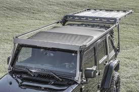 2007 2018 jeep jk 4 door sliding roof rack