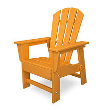 polywood south beach child s kids adirondack chair colorful maintenance free plastic usa made