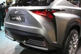 Lexus LF-NX Crossover Concept Revealed Before Frankfurt Show