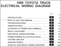 1992 toyota pickup wiring diagram 1992 image 1989 toyota pickup truck wiring diagram manual original on 1992 toyota pickup wiring diagram