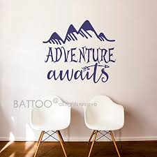 battoo adventure awaits wall decal stickers adventure es travel theme wall decor arrow wall decal mountain wall decal bedroom nursery decor dark