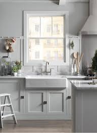 White Kitchen Sink Faucets White On White Kitchen Kohler