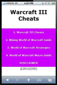 warcraft 3 cheats download warcraft 3 cheats 0 1 android free