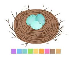 bird nest clipart. Beautiful Bird Birds Nest Clipart Brown Easter Digital Clip Art Eggs Clipart Baby  Shower Instant Download Commercial Use In Bird A