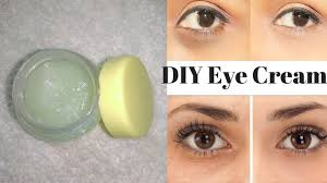 homemade eye cream to get rid of dark circles wrinkles fine lines under eyes in just 7 days you