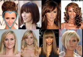best hairstyles for your face shape heart shape