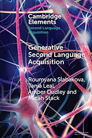 Generative Second Language Acquisition (Elements in Second ...