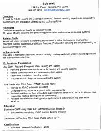 Apprentice Sample Resumes Enchanting Hvac Resume Sample YAKX Plain Ideas Hvac Resume Samples How To