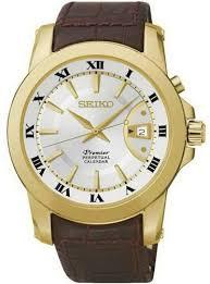 Мужские <b>часы Seiko</b> Premier <b>SNQ144J1</b>