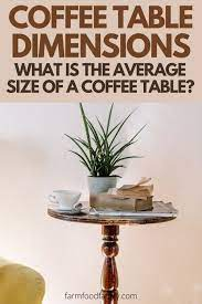 what is the average size of a coffee