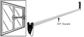 Aluminum Security Bar for Sliding Glass Doors S4013 2090