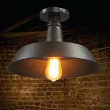 vintage industrial lighting fixtures. Vintage Industrial Lighting Fixtures Semi Flush Ceiling  Light Regarding Decor 1 T