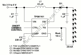 white led driver circuit diagram the wiring diagram li ion driver for 8 white leds simple circuit diagram circuit diagram