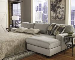 Small Picture Captivating Leather Sectional Sleeper Sofa With Chaise Fancy