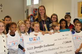 atlanta elementary school teacher jennifer lockwood of springdale park awarded atlanta families